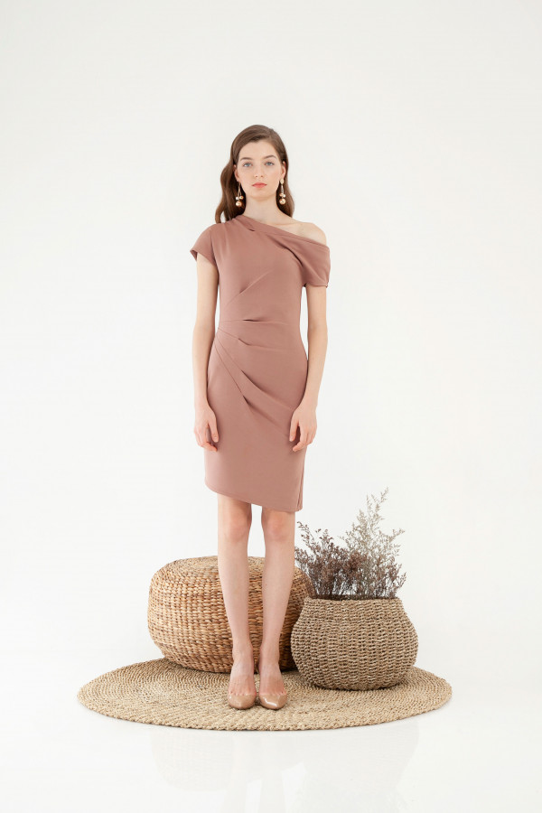Micah Pleat Dress