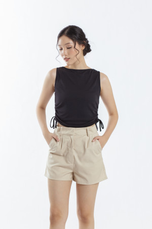 Ruched Side Tank