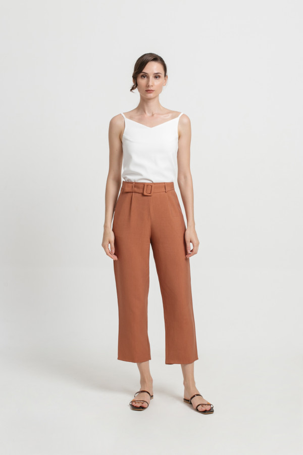 Belted Piper Pants