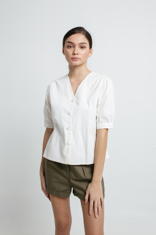 Iris V Neck Blouse