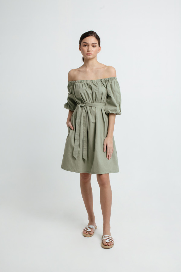Joel Off Shoulder Dress