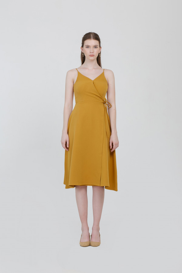 Kayla Overlap Dress