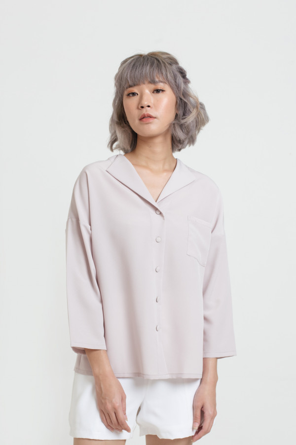 Lapel Collar Shirt
