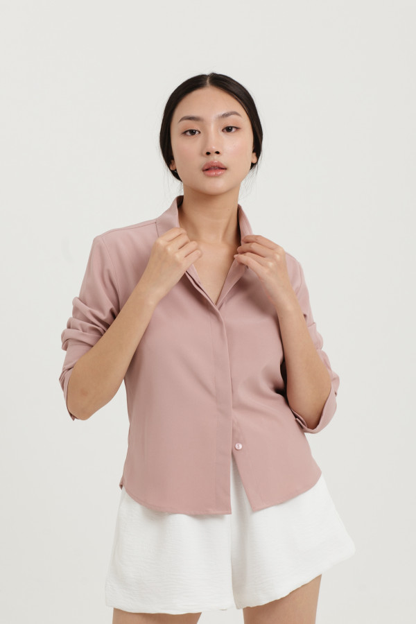 Long Cuff Fitted Shirt