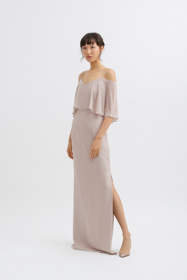 Multiway Side Slit Maxi Dress