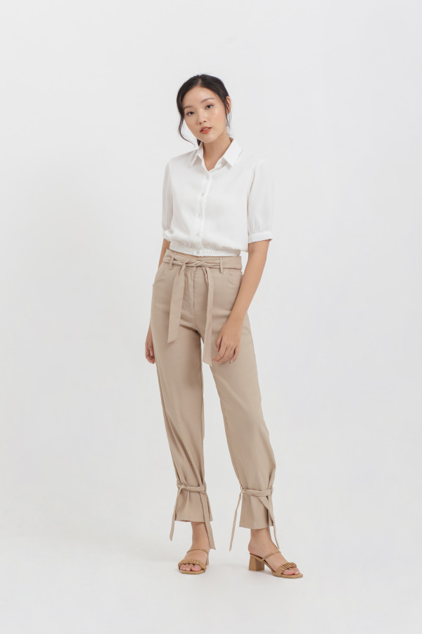Tied Ankle Pants